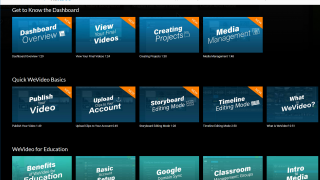 The WeVideo Academy has plenty of videos to help you get started or to inspire your projects.