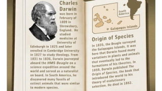 Learn some background about Charles Darwin's life.