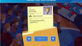 Choose a running mate that boosts your campaign.