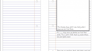 Templates for student documents like lab notebooks are available.