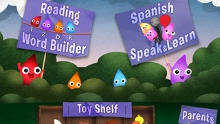 Students can work on English phonics or Spanish vocabulary.