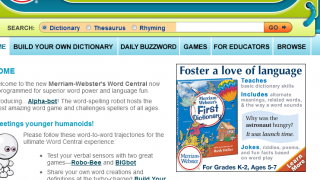 Word Central could use an update, but it's got some valuable resources.