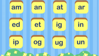Identifying word families grows pre-reading skills.