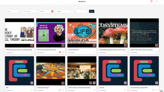 Workbench and user-created resources provide tons of rich multimedia content.