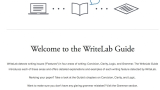 An enormous library of grammar information is embedded on the developer's site.