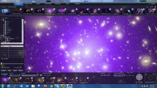 Look at detailed images of galaxies and other astronomical bodies.