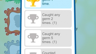 Kids earn fun rewards for counting germs.