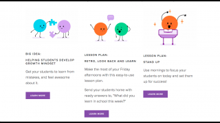 Reach out to the developers for free lesson plans to extend learning.