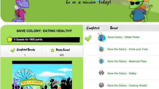 Complete online and offline challenges to learn about nutrition and help Zis, Boom, and Bah save an ant colony weakened by junk food.