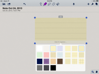 Choose different sticky notes and backgrounds to fit your personality or needs.
