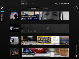 TouchFeeds let users view work by others which could spark creativity.