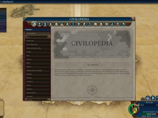 As in previous games in the series, Civilization VI features an in-game encyclopedia providing historical context for buildings, civilizations, units, and concepts.
