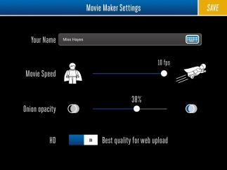 Use the settings menu to fine-tune the features just the way you like them.