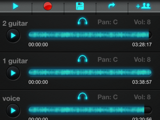 Access music from other StudioShare users to provide feedback or sample a song for your own remix.