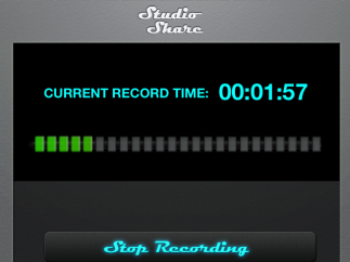 The StudioShare recording studio allows kids to record their own music.