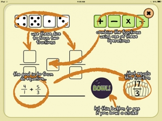 An information screen shows kids how to play.