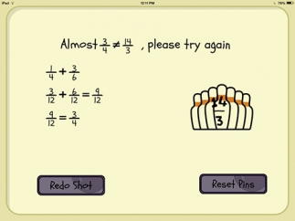 Kids can use the feedback for incorrect answers to learn from their mistakes.