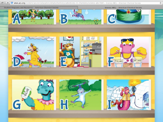 The Science ABC's have short lessons and experiments coordinated with animations.