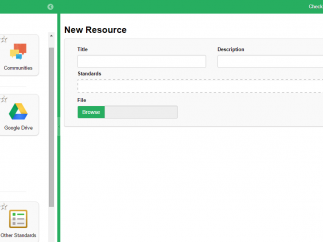 Teachers can add their own tried-and-true lessons and sources to the favorites area and calendar.