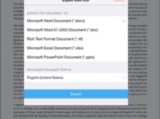 Convert Word and Excel docs to PDFs.