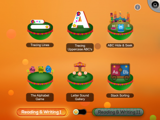 The level 1 reading and writing games