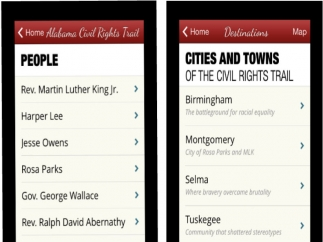 Learn about people and places involved with the Civil Rights Movement.