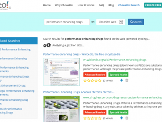 Choosito is a safe search engine for students.