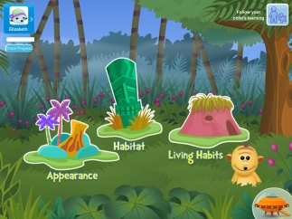 Choose from animal traits, habitats, or living habits.
