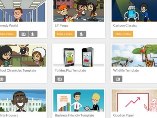 There are many choices and options for creating your own animations.