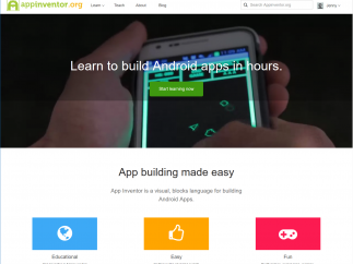 Site includes self-guided learning and teacher lesson plans to use MIT App Inventor with ease.