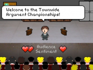 Move through a series of debate championships