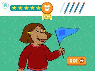 Successfully complete five games to earn five stars before losing five pencils.