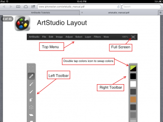 The ArtStudio manual is extremely detailed and searchable.