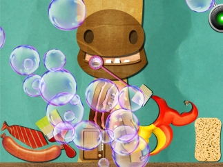 Animals giggle with delight when you blow bubbles