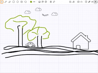 Easily add photos or drawings using lots of easy-to-understand options.