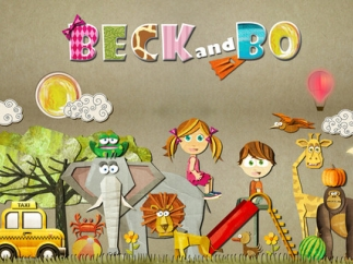Kids follow Beck and Bo on adventures -- some familiar, like parks, bedrooms, and grocery stores and some unknown such as going on safari and on ocean adventures.