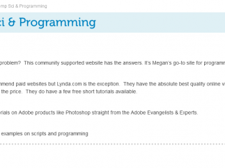 Started when young BJ wanted to design his own website, this site has lots of programming links.