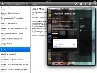 Viewing posted entries is easy, but accessing Blogger blogs through a browser offers more features and options.