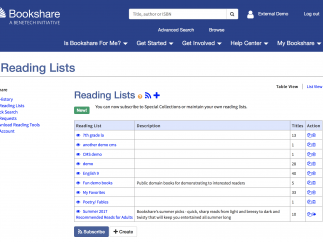 You can easily subscribe to Special Collections or curate your own reading lists.