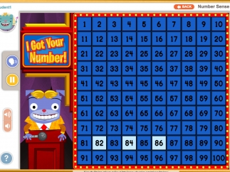 A game show set up gets kids exploring counting through numbers in different ways, like by twos, tens, and more.