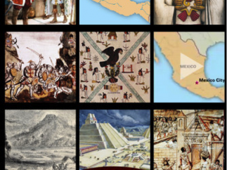 Kids can explore photos, videos, and maps to learn Aztec history.