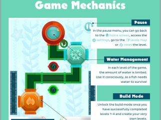 A parents' guide outlines the how-tos of the game, the underlying learning content, and some offline extensions.