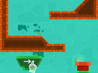 Early levels give some minimal hints on how to construct a pathway for Archie.