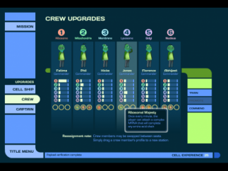 Students recommend crew members for awards and train them to work at different stations.