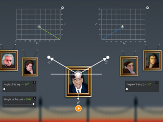 Interactive simulations let students apply their knowledge.