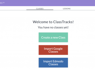 Import class info from popular classroom management systems.