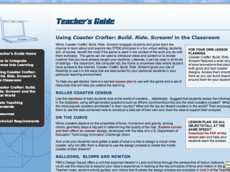 The Teacher's Guide has lots of resources but not much assessment.