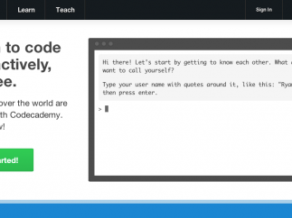 From the very first page, you see the simplicity of coding.
