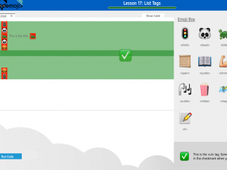 Full-featured teacher dashboard manages and tracks student progress.