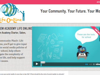 Life Online versions of the game tackle school social-media issues.